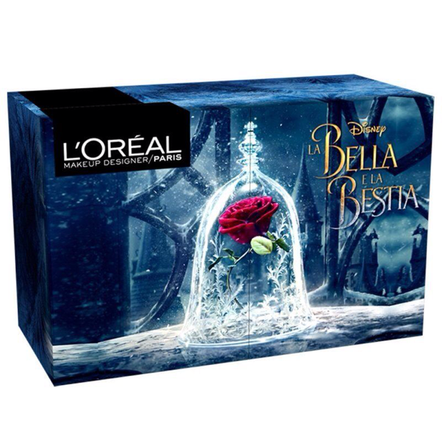 L'Oreal x Beauty & The Beast Make Up Designer Box Collection