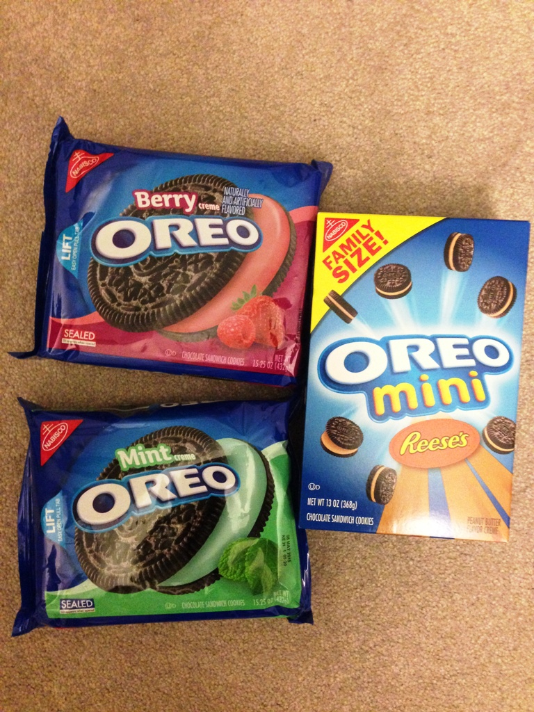 18 Delectable Oreo Flavors From The Us With Brittney Lee Saunders