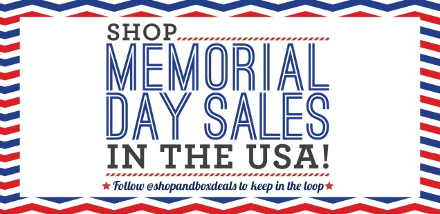 Memorial Day Sales 2015 in the US
