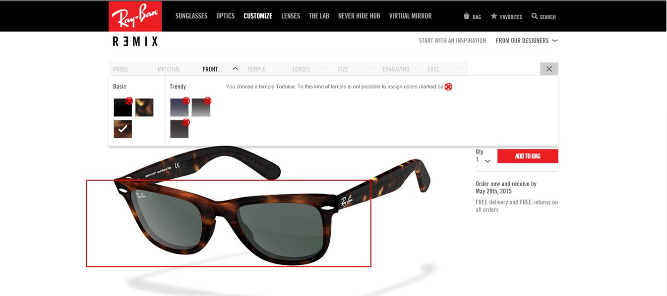 5a6f037c6eb A Guide to Customizing Your Ray Bans - ShopandBox