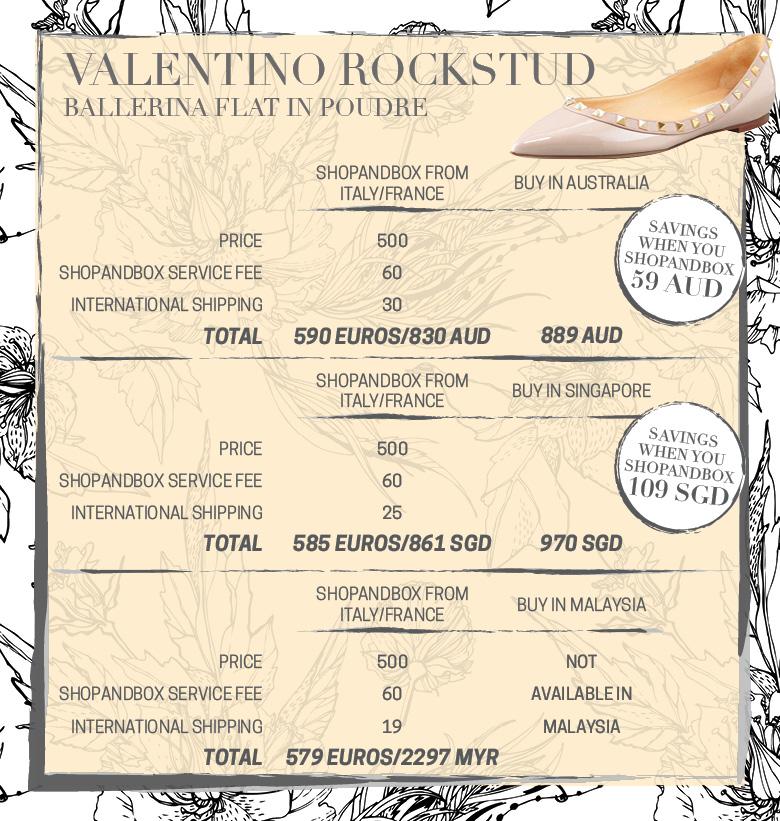 Valentino Rockstuds Flats