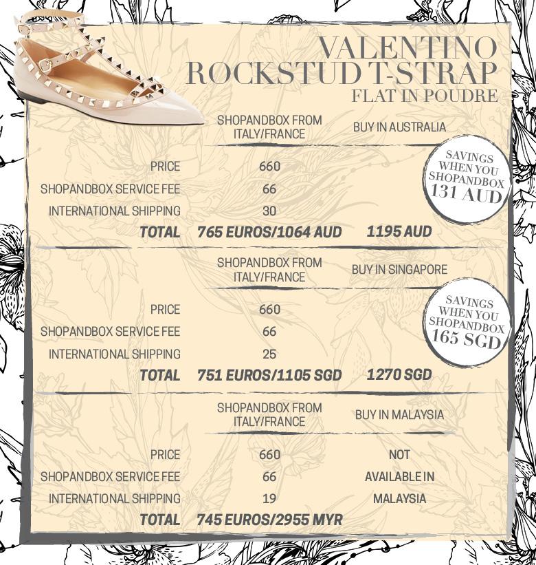 Valentino Rockstuds Tbar