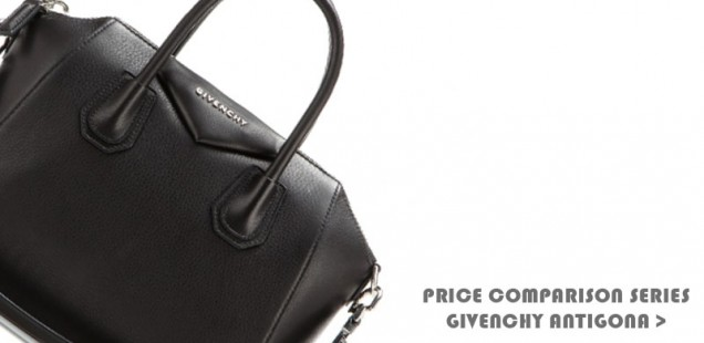 Price Comparison: Givenchy Antigona