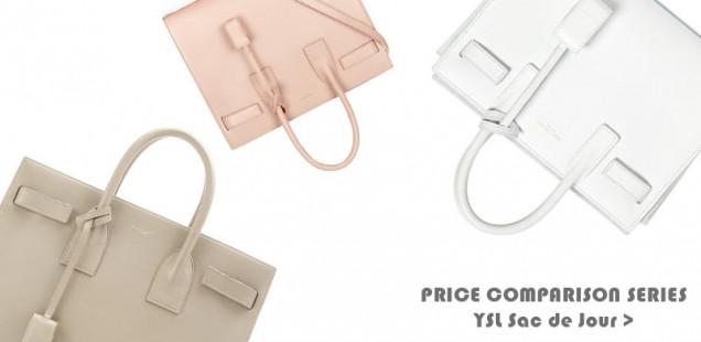 Price Comparison Series: Saint Laurent Sac De Jour