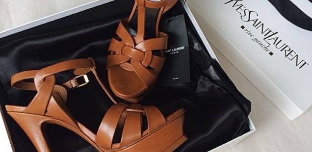 Price Comparison: Saint Laurent Classic Tribute Sandals