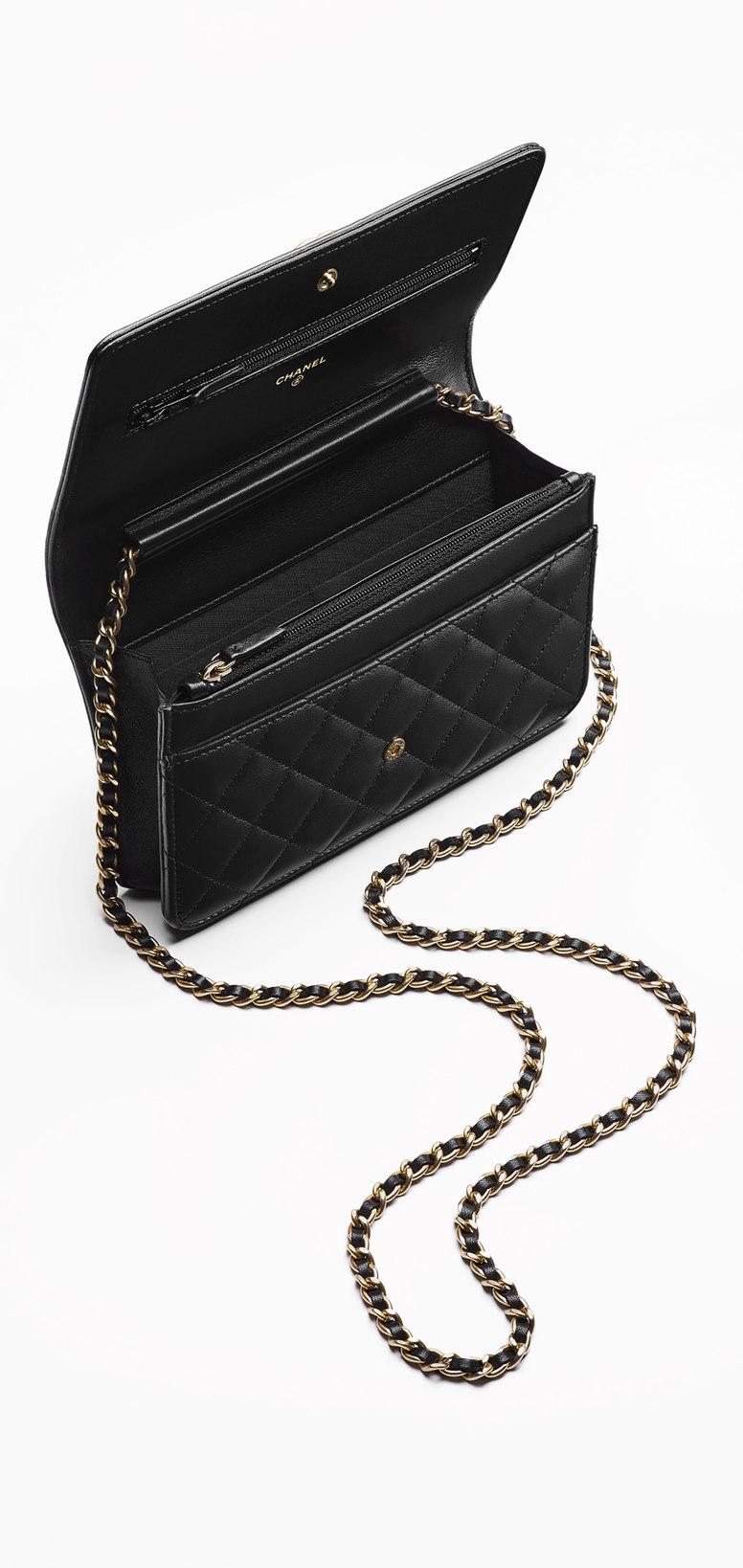 908ad629527b Price Comparison: Chanel Boy Wallet On Chain - ShopandBox