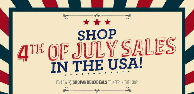 Shop Till You Drop With 4th of July Sales in the US