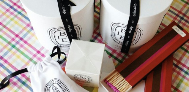 Exclusive Diptyque Candles From Paris and Beverly Hills