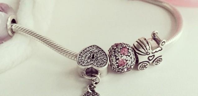 Price Comparison: Pandora Bracelet & Charms