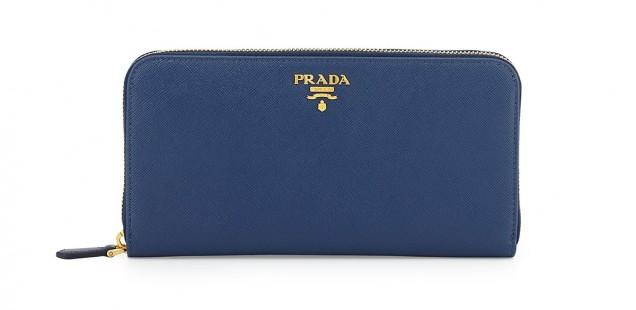 Price Comparison: Prada Saffiano Zip-around Wallet