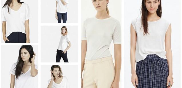 Essentials: White T-Shirts
