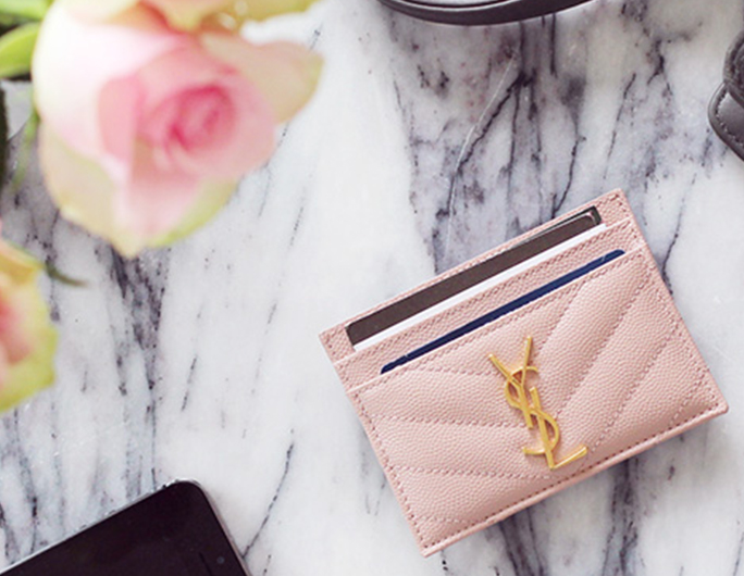 Price Comparison  Saint Laurent Card Holder - ShopandBox 22397f3e23