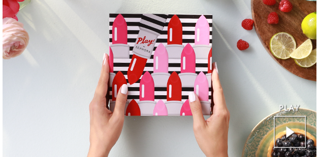 Another subscription box to add on your list: Play! By Sephora