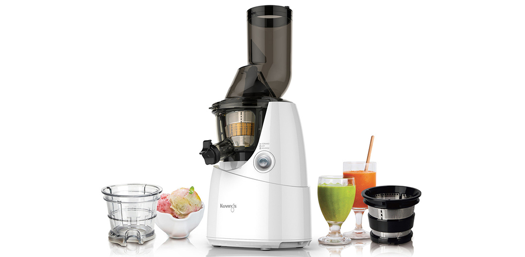 Kuvings Whole Slow Juicer B6000 Silber : Kuvings B6000 (NS-621) Whole Slow Juicer