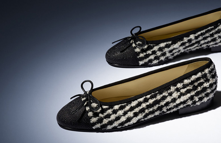 Chanel-tweed-flats