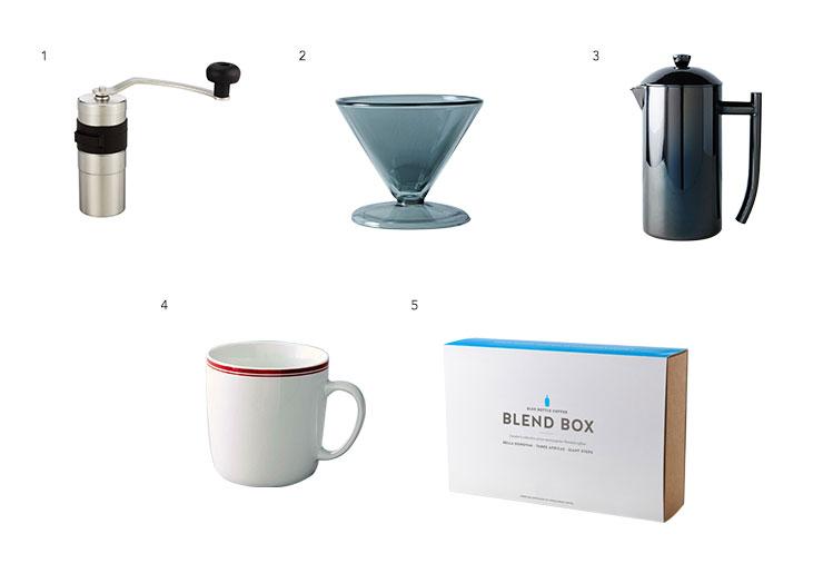 Coffee lovers box
