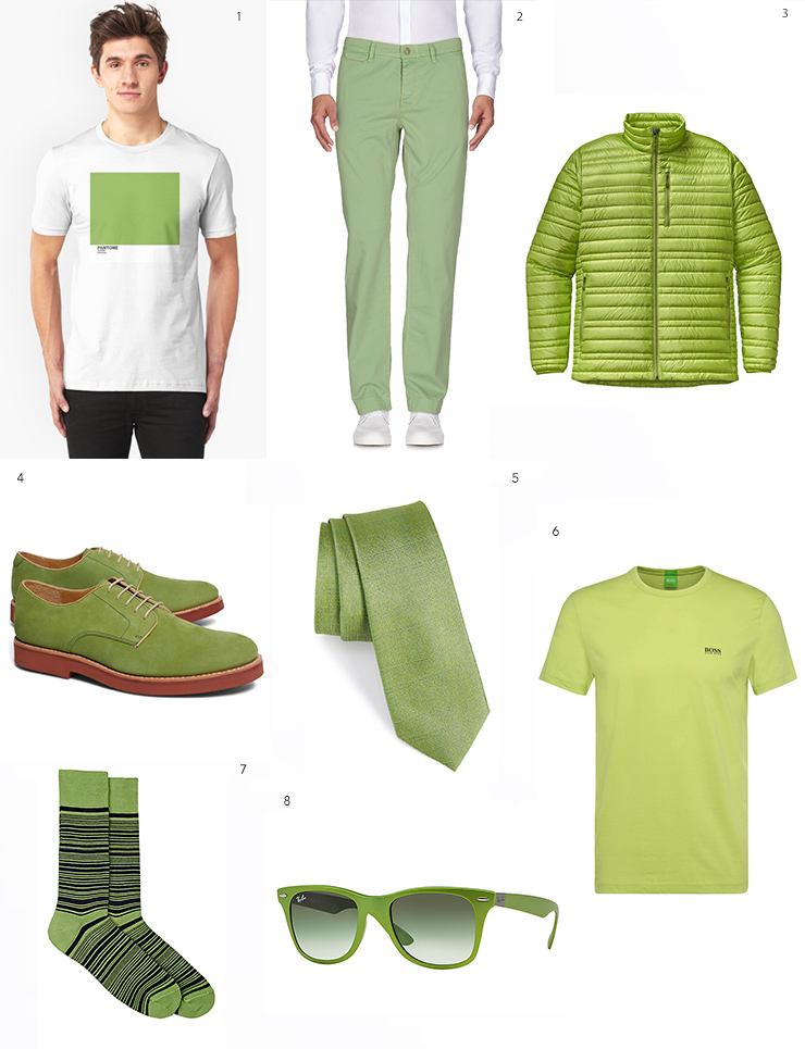Pantone-Greenery-Men's