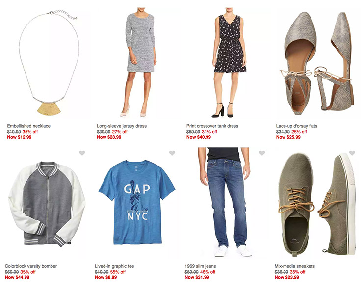 online outlet stores