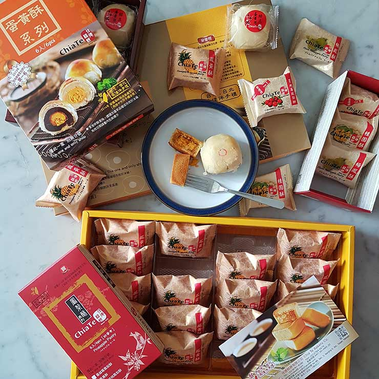 Chia-Te-Pineapple pastries