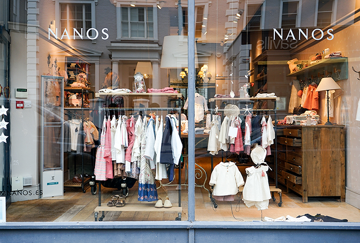 8e2c9cd96 Nanos is Spain's leading luxury children's wear brand. Think gentle frills  on pastel-coloured cotton dresses, plush suede mini-moccasins, ...