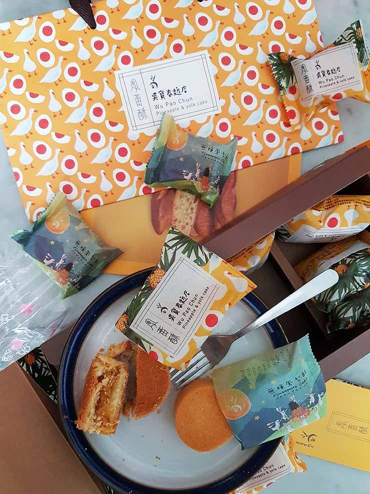 WuPaoChun Pineapple pastries