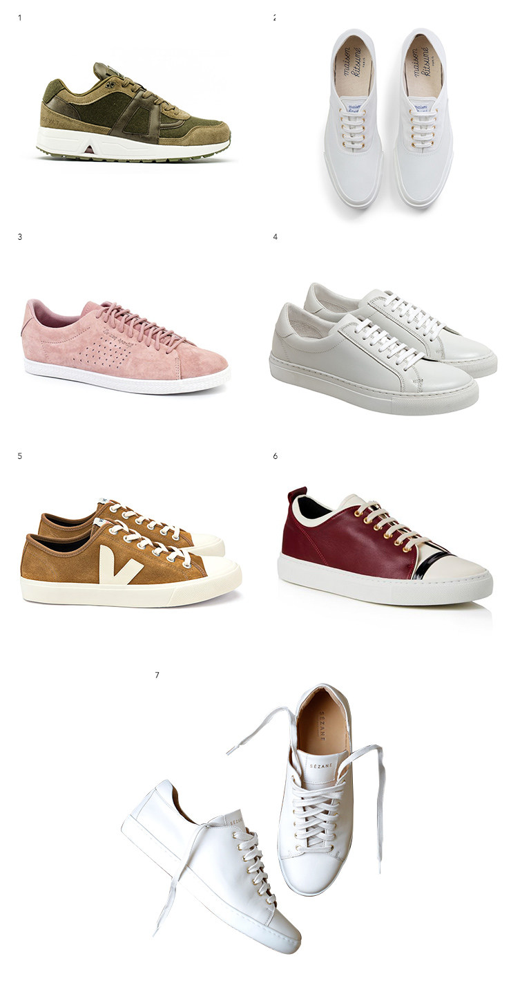 French sneaker brands