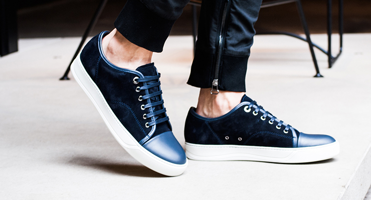 French sneaker brands lanvin
