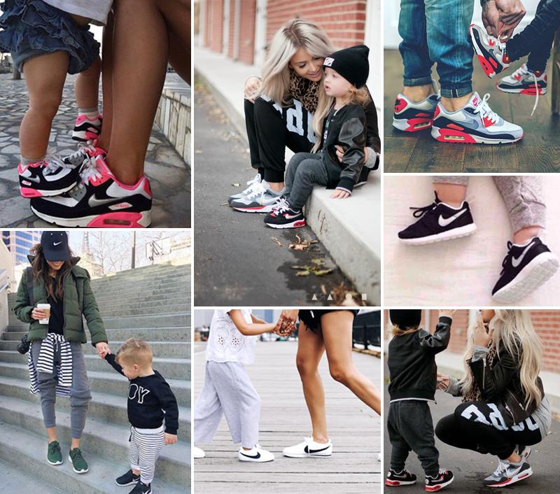Mummy and me fashion: Matching outfits