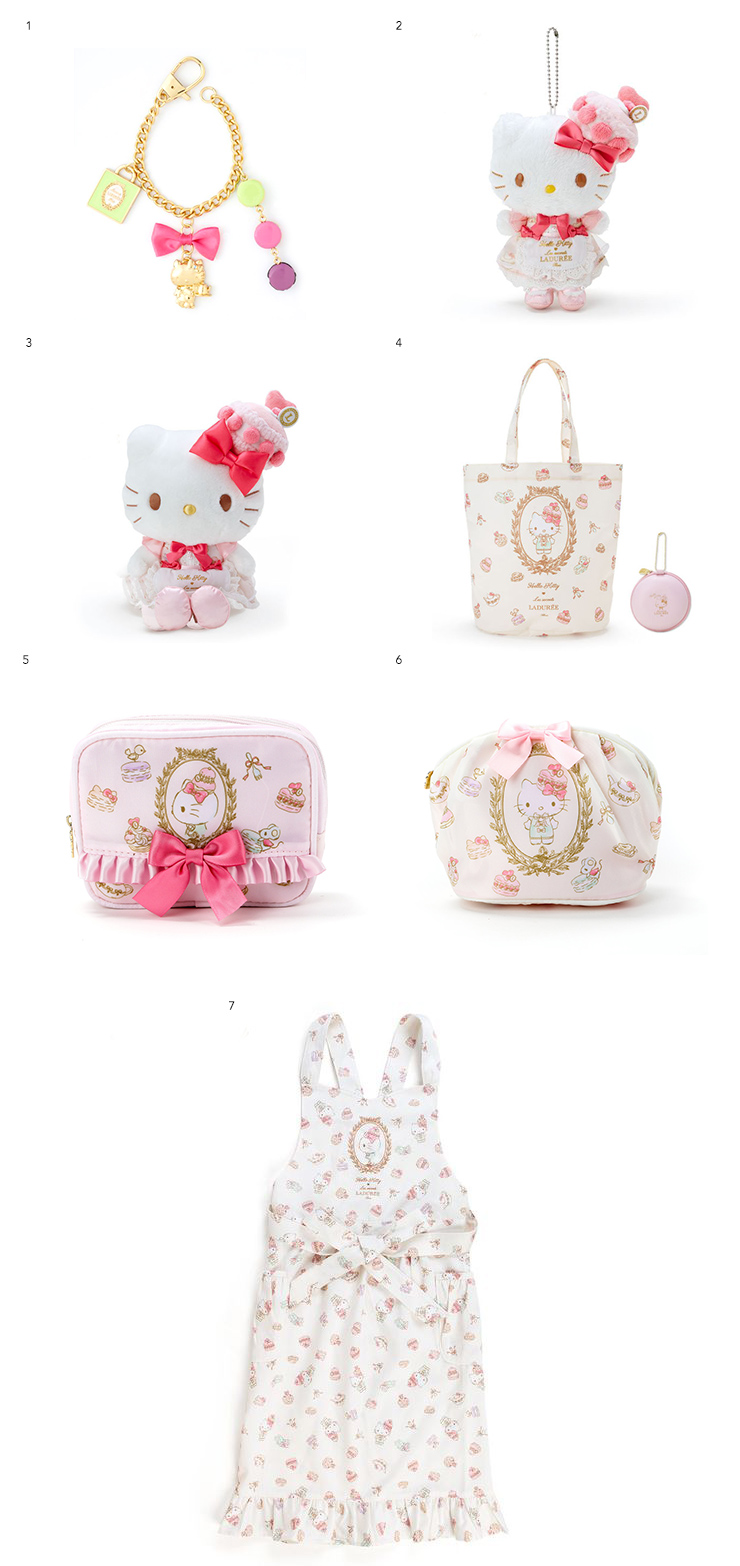 hello kitty x ladurée items