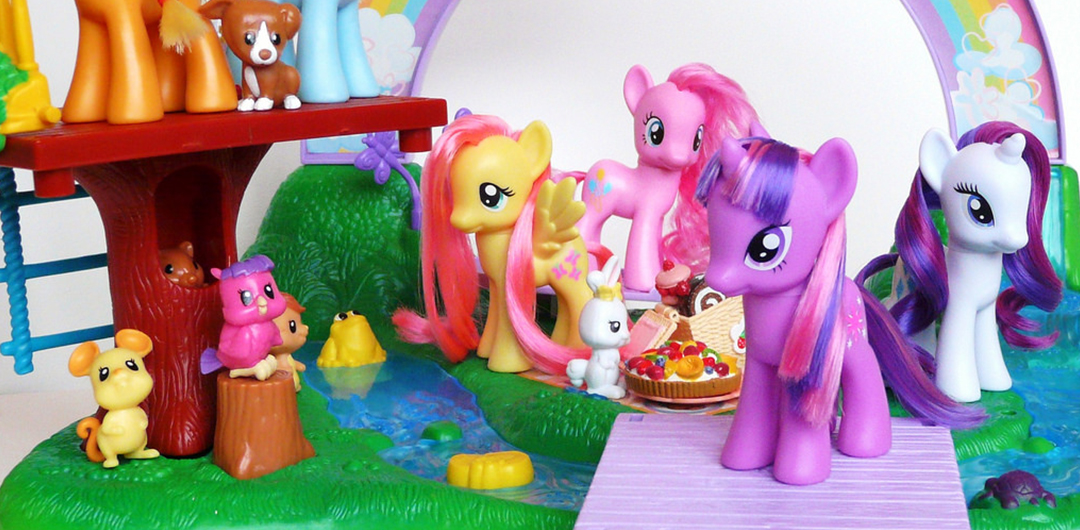 my little pony merch