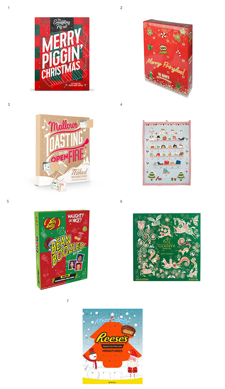 The Best Advent Calendars This 2017 For Foodies