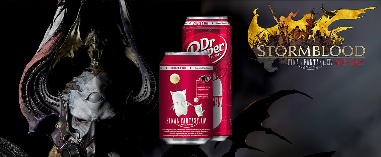 Here's How You Can Get Your Hands On Dr  Pepper x Final Fantasy XIV