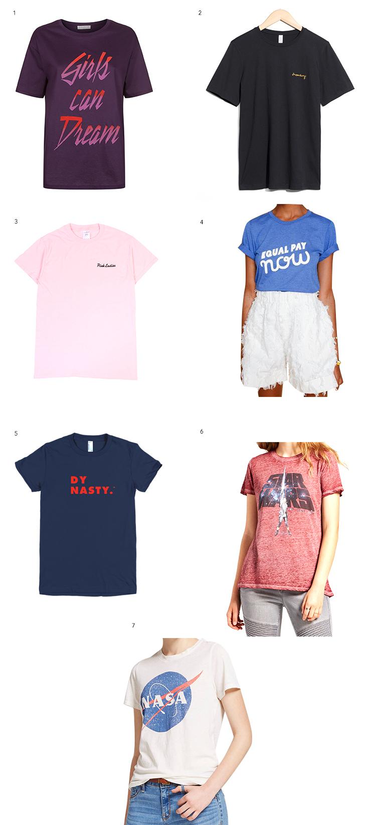 slogan t shirts