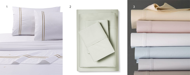 Cotton Sateen sheets
