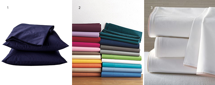 For A Steal, Get Percale Sheets From Target, Or Pay A Little More For  Colour Variety And Finer Finishing From The Company Store And Eileen Fisher.