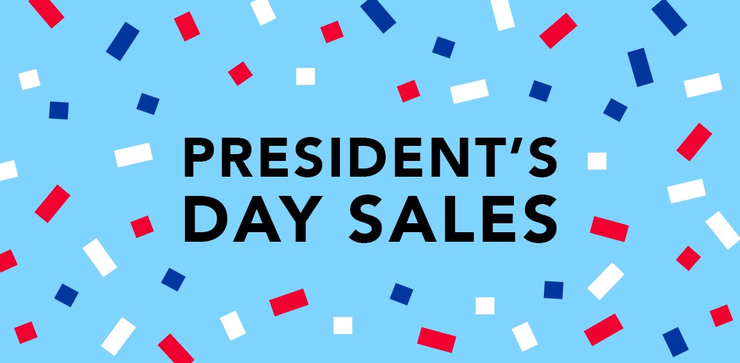 president's day sales 2018