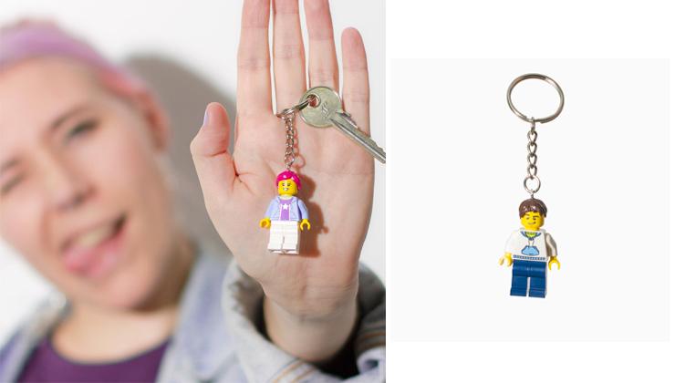Brick-Yourself-Keyring