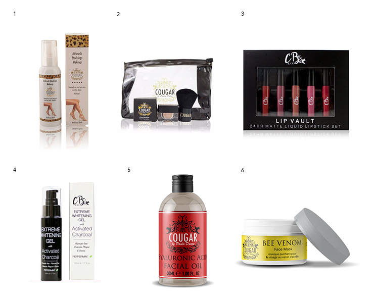 Cougar-Beauty-products