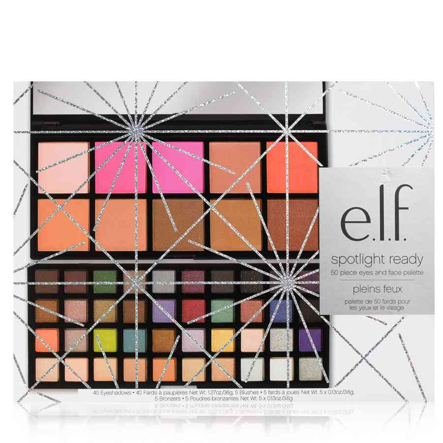 elf spotlight ready 50 psc eyeshadow