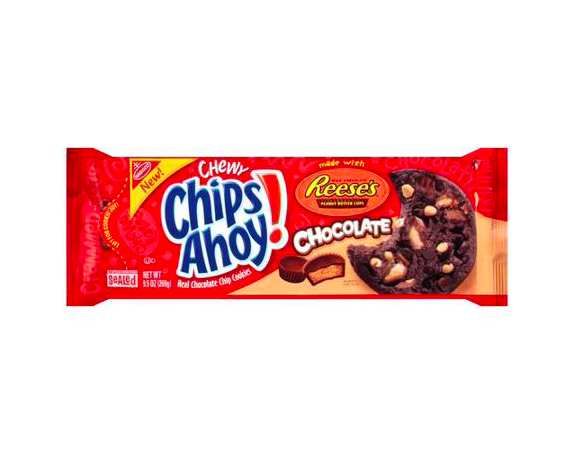 Nabisco Chips Ahoy Chewy Chocolate Chip Cookies with REESES Pea