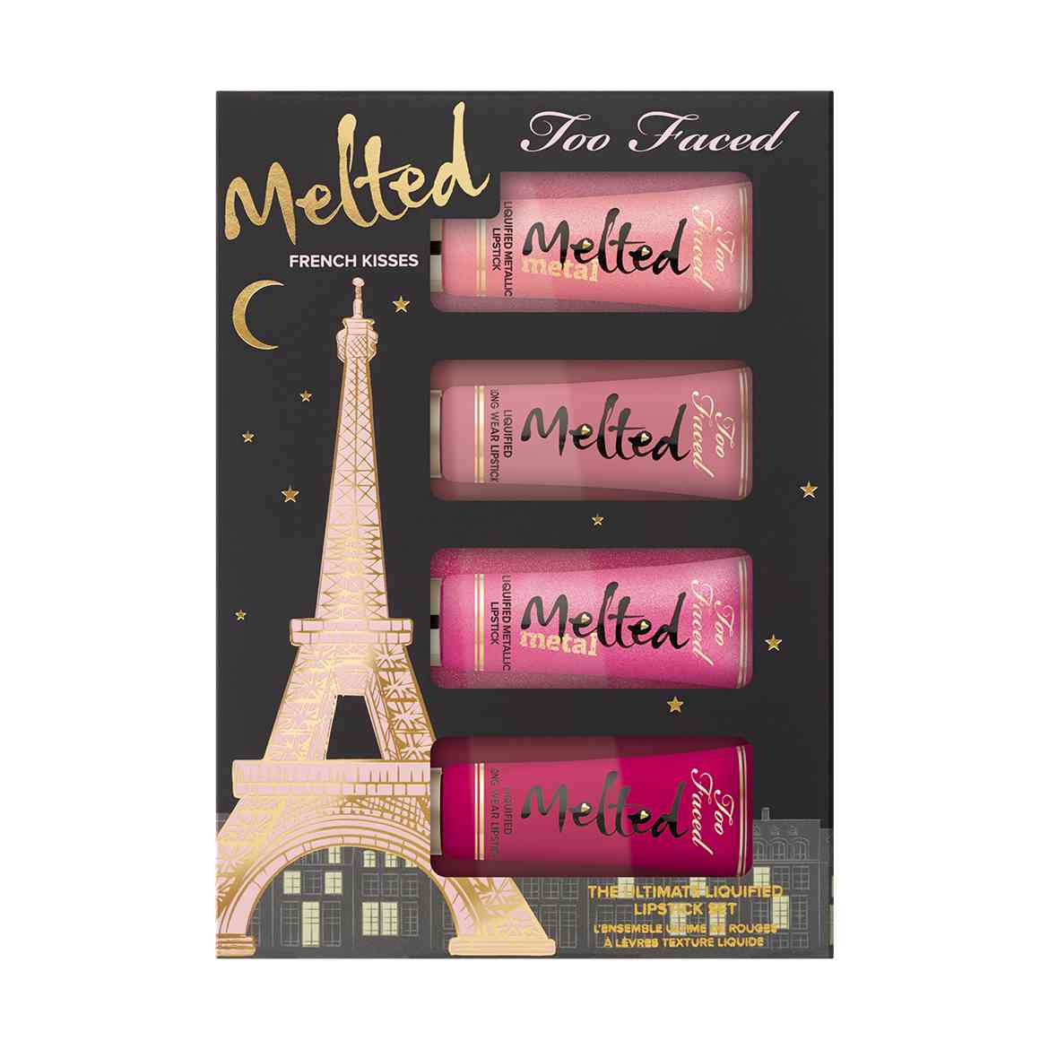 too faced french kisses melted