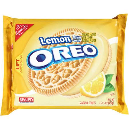 Lemon Oreo Sandwich Cookies