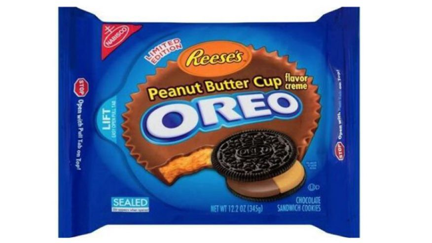 Oreo Reeses Peanut Butter Cup