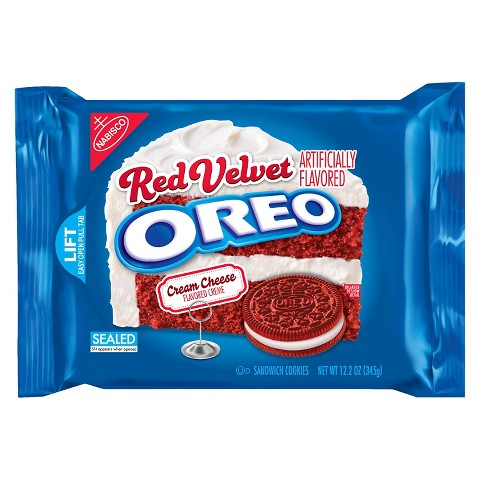 Oreo Sandwich Cookies Red Velvet