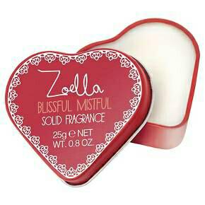 Zoella Beauty Blistful Mistful Solid Fragrance
