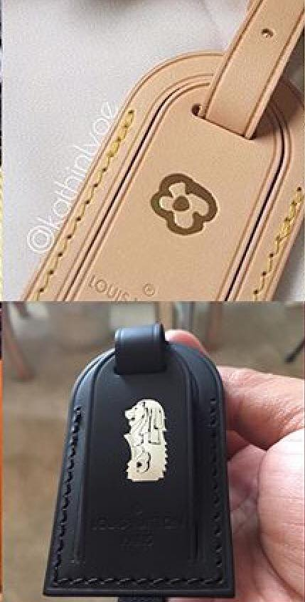 ee6844a866a ShopandBox - Buy Louis Vuitton Luggage tag with Merlion hotstamp from SG