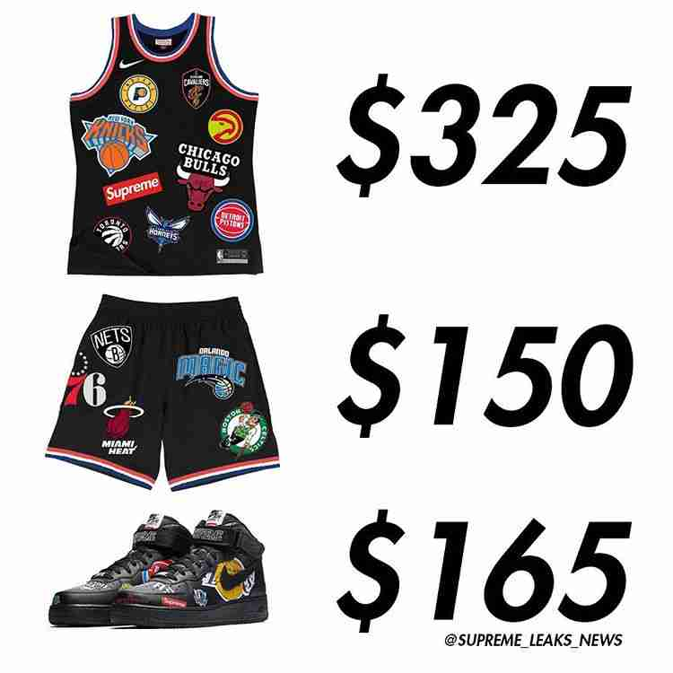 new products 9312a 1a9dd ShopandBox - Buy Supreme nba jersey , shorts and shoes from US