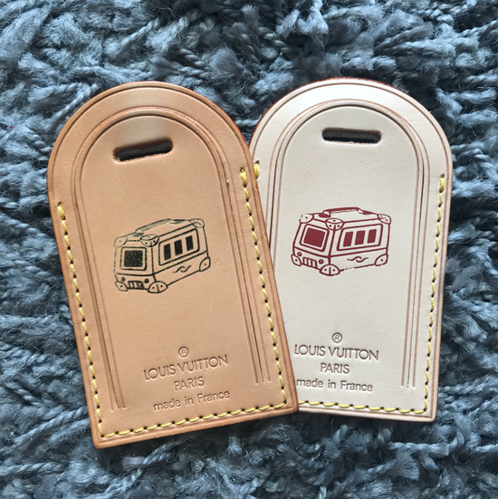 e3dfb18c376 ShopandBox - Buy Lv luggage tag hot stamp- Taipei 101 building from TW