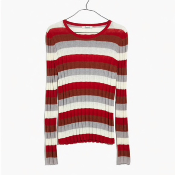 Clarkwell Pullover Sweater Striped