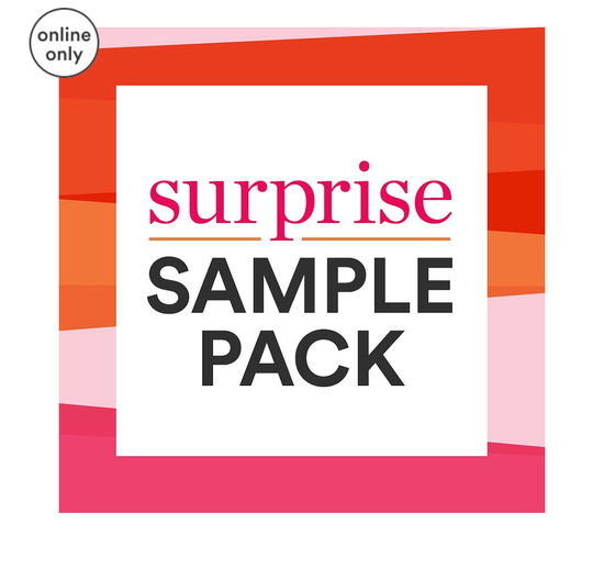 Online Only FREE Surprise Sample Pack with select complexion purchase